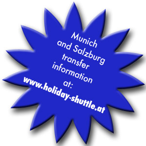 Munich and Salzburg holiday shuttle info