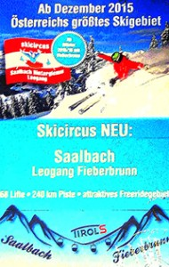 Fieberbrunn piste map info